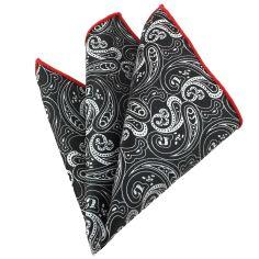 Pochette noir d'iran, compagnie des indes Paisley