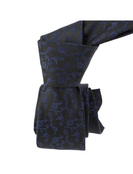 Cravate Slim, London, Noir Clj Charles Le Jeune Cravates