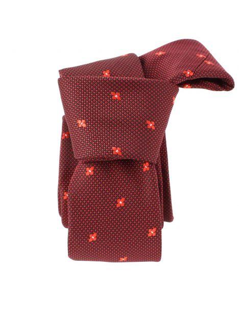 Cravate Slim, London, Flower Clj Charles Le Jeune Cravates