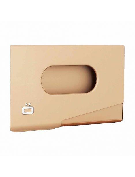 Porte-carte de visite alu rose gold, Ogon Design, One Touch Ogon Designs Porte cartes de visite