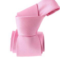 Cravate, rose unie, Mulhouse