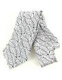 Cravate en soie, Dufy Feuilles Brochier Soieries 1890 Cravates