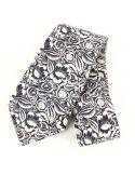 Cravate en soie, Dufy Perse, blanc Brochier Soieries 1890 Cravates