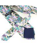 Cravate en soie, Gaudi Fleurs Mauresques Brochier Soieries 1890 Cravates