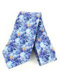Cravate en soie, Gaudi Le Lézard Brochier Soieries 1890 Cravates