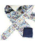 Cravate en soie, Gaudi Orient Brochier Soieries 1890 Cravates