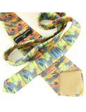 Cravate en soie, Gauguin Mahana No Atua Brochier Soieries 1890 Cravates