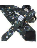 Cravate en soie, Kandinsky Several Circles Brochier Soieries 1890 Cravates