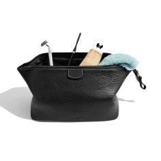 Trousse de toilette, Dulwich, Heritage cuir nappa noir.