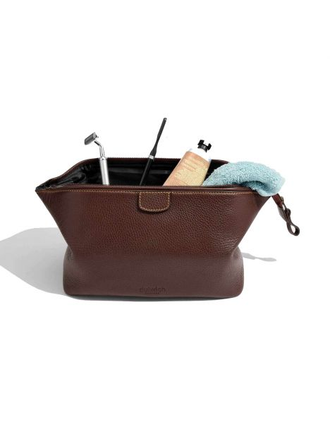 Trousse de toilette, Dulwich, Heritage cuir marron Dulwich Designs Trousses de toilette