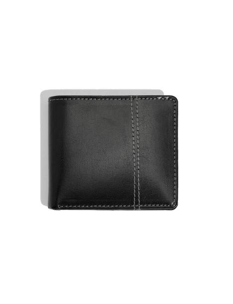 Portefeuille en cuir Heritage, noir Dulwich Designs Portefeuille Cuir