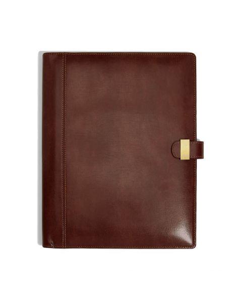 Porte documents en cuir, Heritage havane Dulwich Designs Portefeuille Cuir