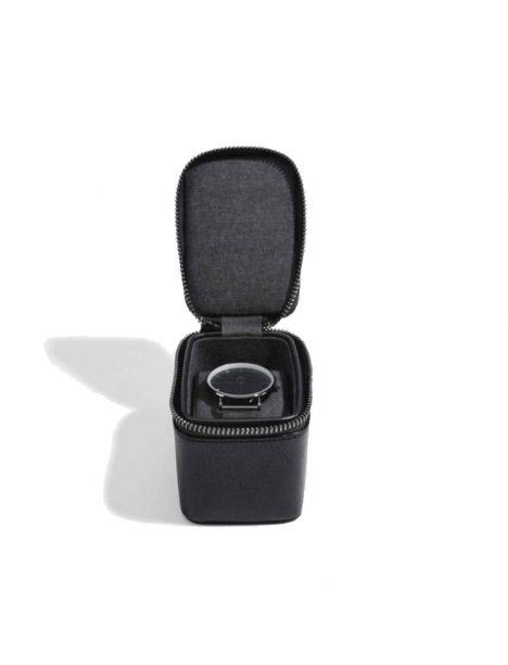 Ecrin rangement montre, voyage, noir Stackers UK Ecrins