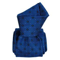 Cravate en soie, Corleone bleu floral