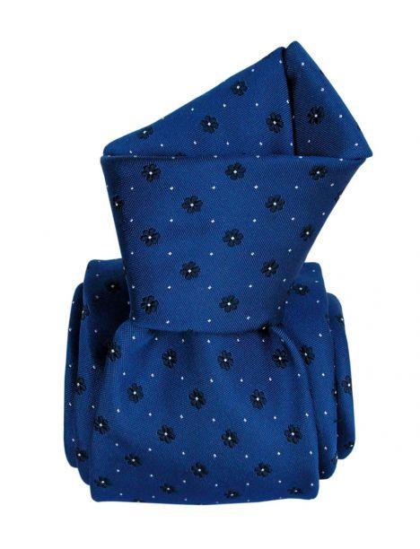 Cravate en soie, Corleone bleu floral Segni et Disegni Cravates