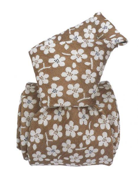 Cravate en soie, Marsala fleur Segni et Disegni Cravates