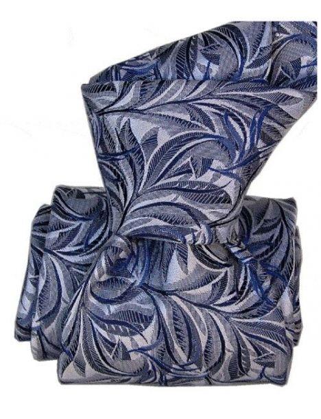 Cravate Classique Segni Disegni pure soie, Feuilles Marine Segni et Disegni Cravates