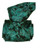 Cravate Classique Segni Disegni pure soie, Pensées turquoise Segni et Disegni Cravates