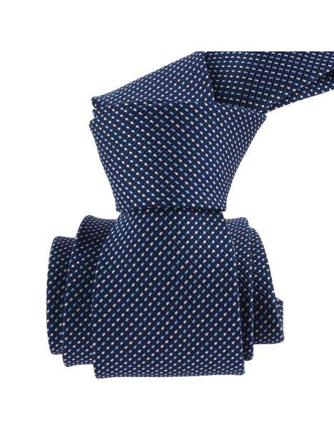 Cravate, Via Battistie, Bleu