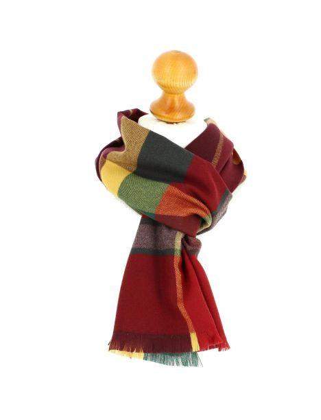Echarpe en laine d'Australie, Ullapool Rosso