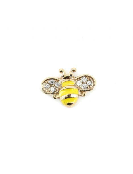 Boutonnière abeille jaune