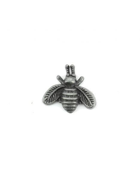 Boutonnière petite abeille bronze foncé