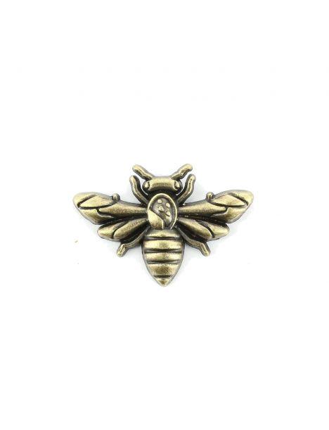 Boutonnière frelon bronze