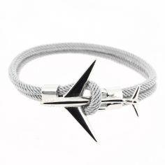 Bracelet gris avion Jet