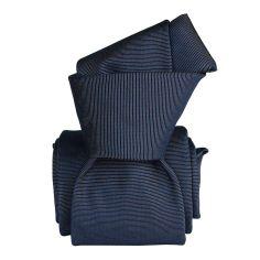 Cravate Classique Segni Disegni, Saglietta, Marine