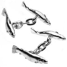 Boutons de manchette, Christopher Simpson, Salmon, Sport