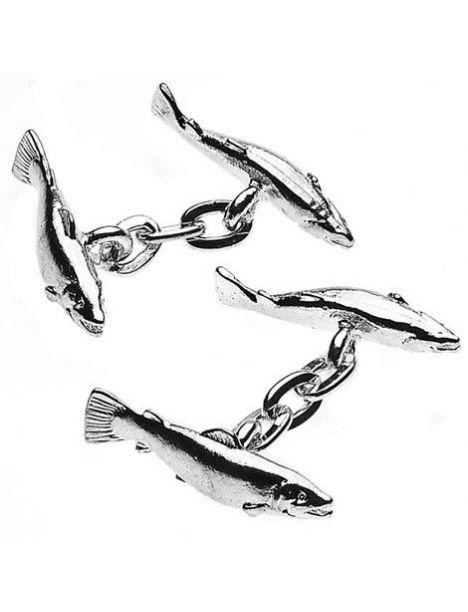 Boutons de manchette, Salmon, Sport Christopher Simpson Bouton de manchette