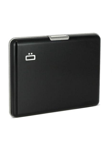 Portefeuille, Ogon Designs Black intérieur grey Ogon Designs Petite Maroquinerie