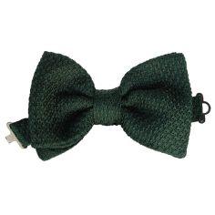 Cravate mogador Club//ray/é Basilicata Segni et Disegni Laine Vert Fabriqu/é en Italie.
