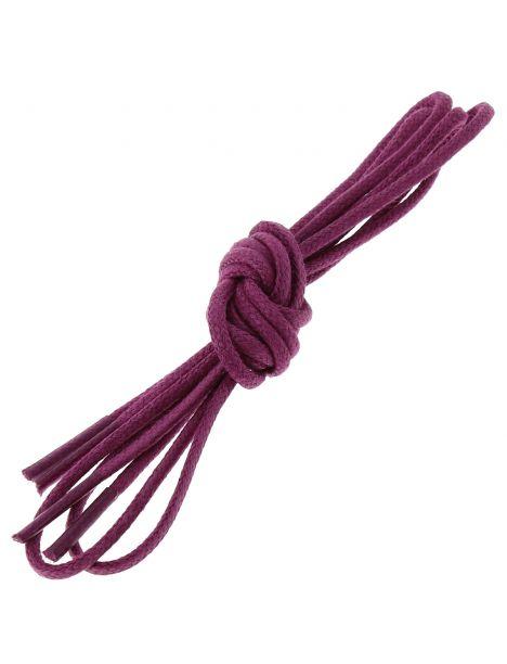 lacets ronds coton ciré couleur Violet Les lacets Français Lacets