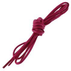 lacets ronds 2mm, coton ciré, Rose Boléro