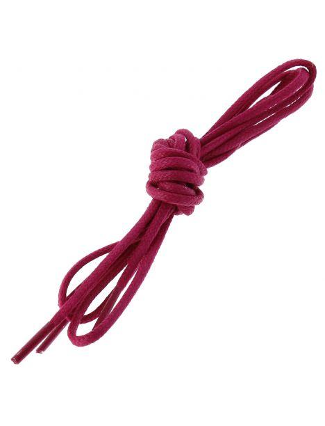 lacets ronds coton ciré couleur Rose Boléro Les lacets Français Lacets