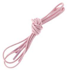 lacets ronds 2mm, coton ciré, Rose oeillet