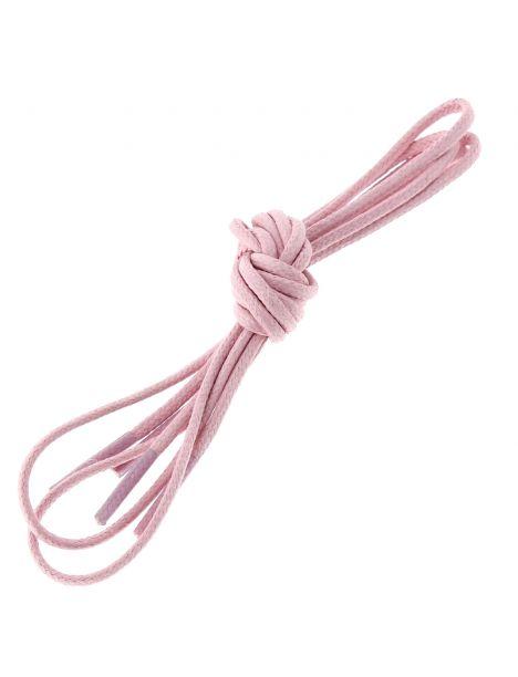 lacets ronds coton ciré couleur Rose oeillet Les lacets Français Lacets