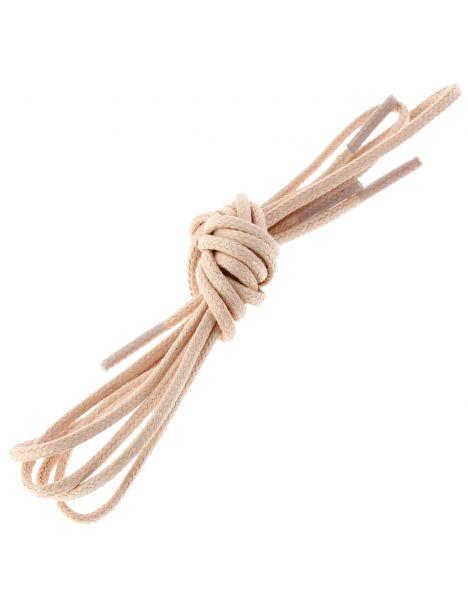 lacets ronds coton ciré couleur Saumon Les lacets Français Lacets