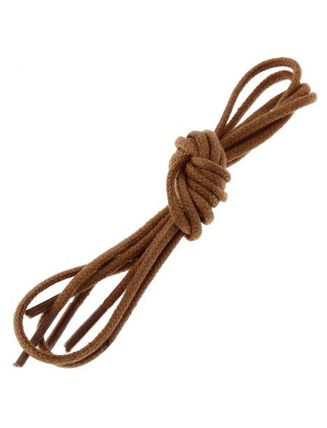 lacets ronds coton ciré couleur Cuivre