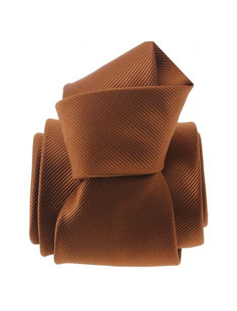 Cravate CLJ, Liège, Marron cuivré Clj Charles Le Jeune Cravates