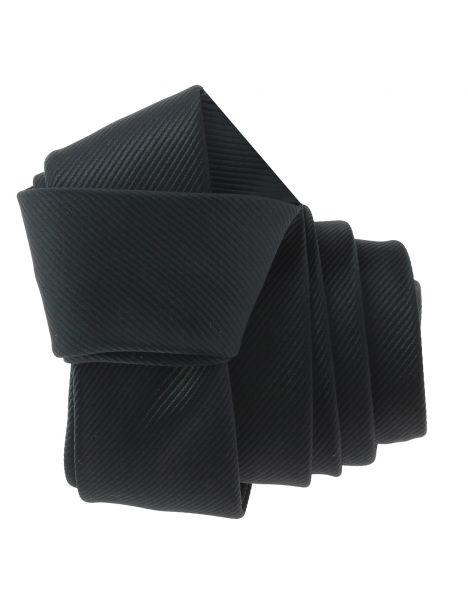 Cravate CLJ Slim 4cm, Rock Noir Clj Charles Le Jeune Cravates