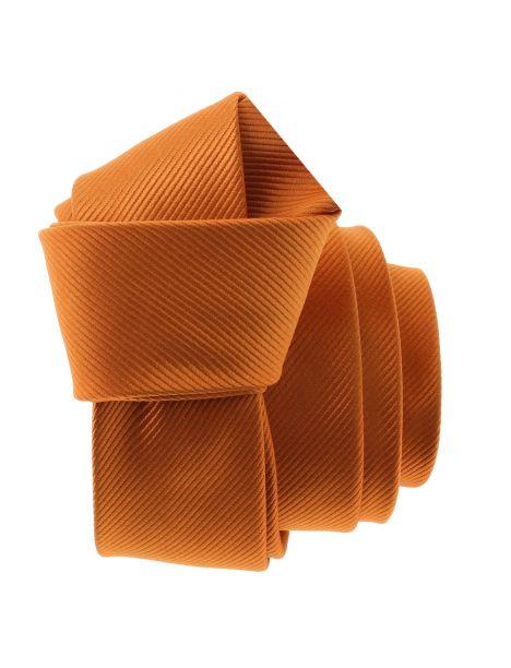 Cravate CLJ Slim 4cm, Piccadilly Orange de Murcia