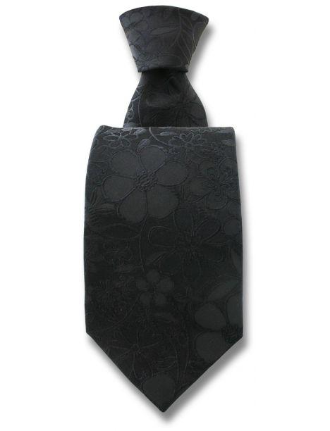 Cravate Robert Charles Florence noir Robert Charles Cravates