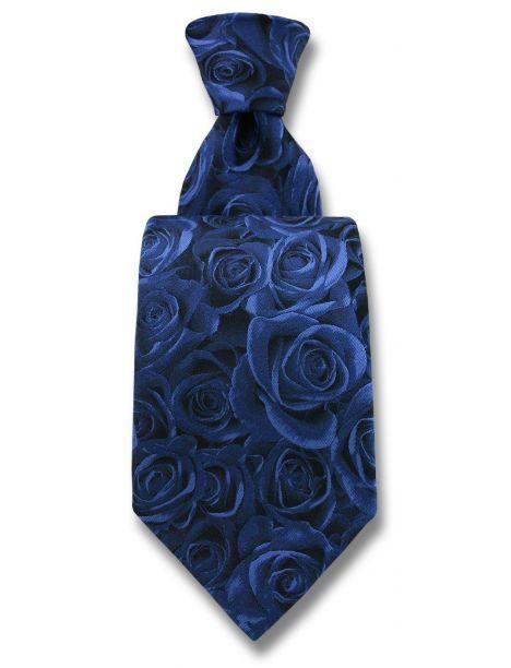 Cravate Robert Charles Rose bleu Robert Charles Cravates