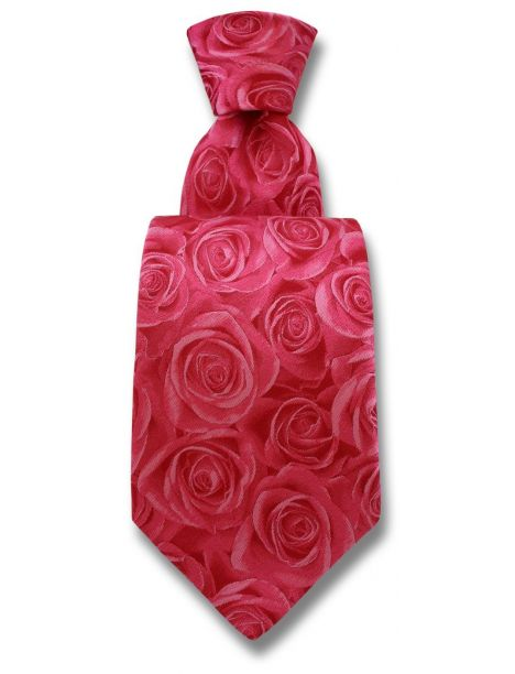 Cravate Robert Charles Rose Pink
