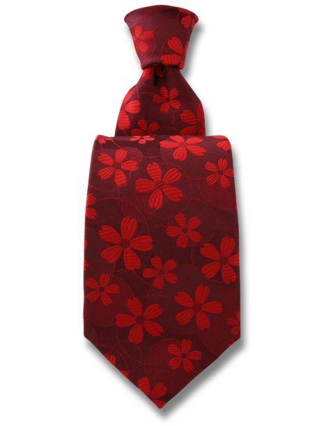 Cravate Robert Charles Valentina rouge