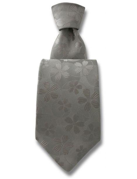 Cravate Robert Charles Valentina argent Robert Charles Cravates