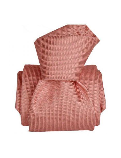 Cravate Classique Segni Disegni pure soie, Lazio, rose Segni et Disegni Cravates