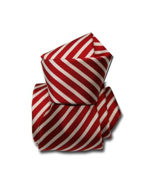 Cravate Classique Segni Disegni, Mogador, Brescia, Rouge Segni et Disegni Cravates